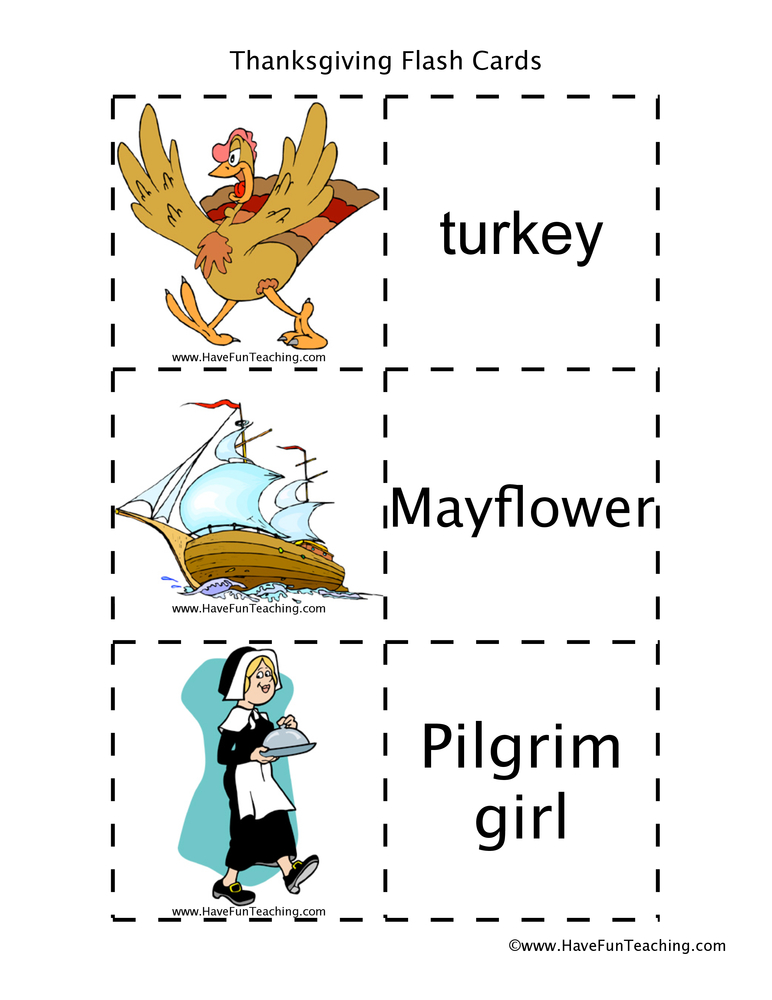 thanksgiving-flash-cards