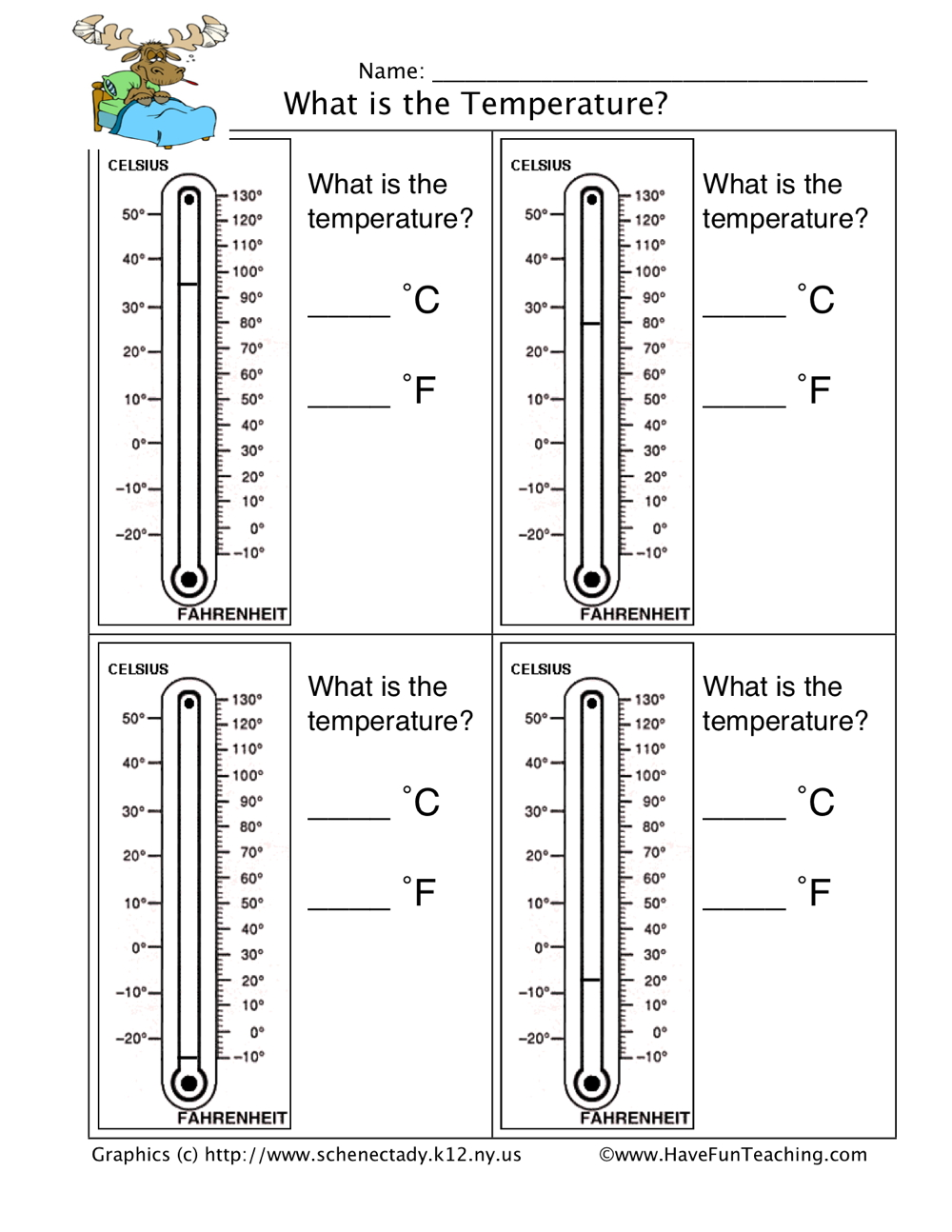 Printables Thermometer Worksheet thermometer worksheet have fun teaching 2