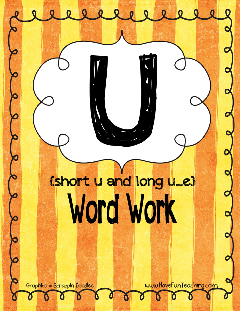 u-word-work-activity