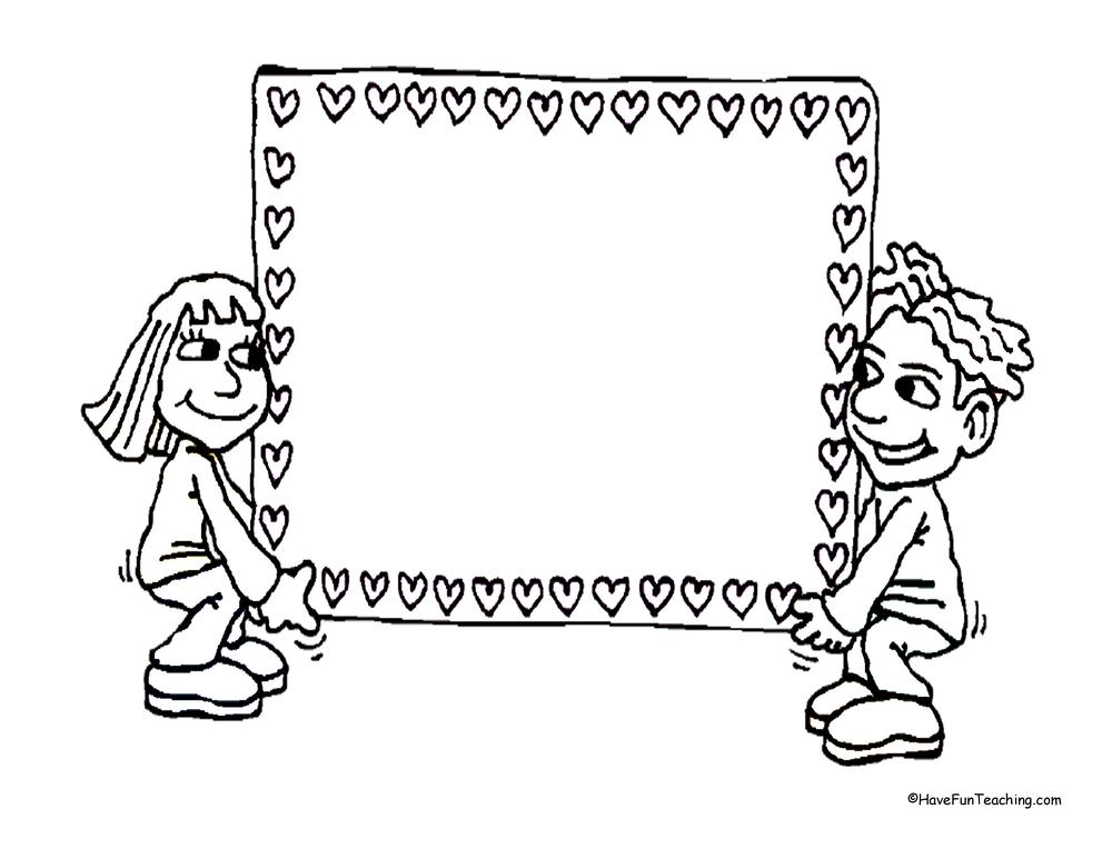Valentine's Day Hearts Paper