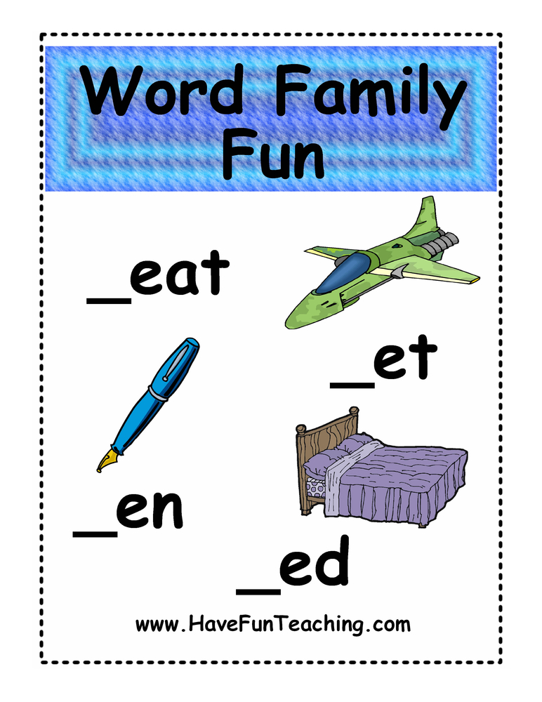 word-family-EAT-ED-EN-ET
