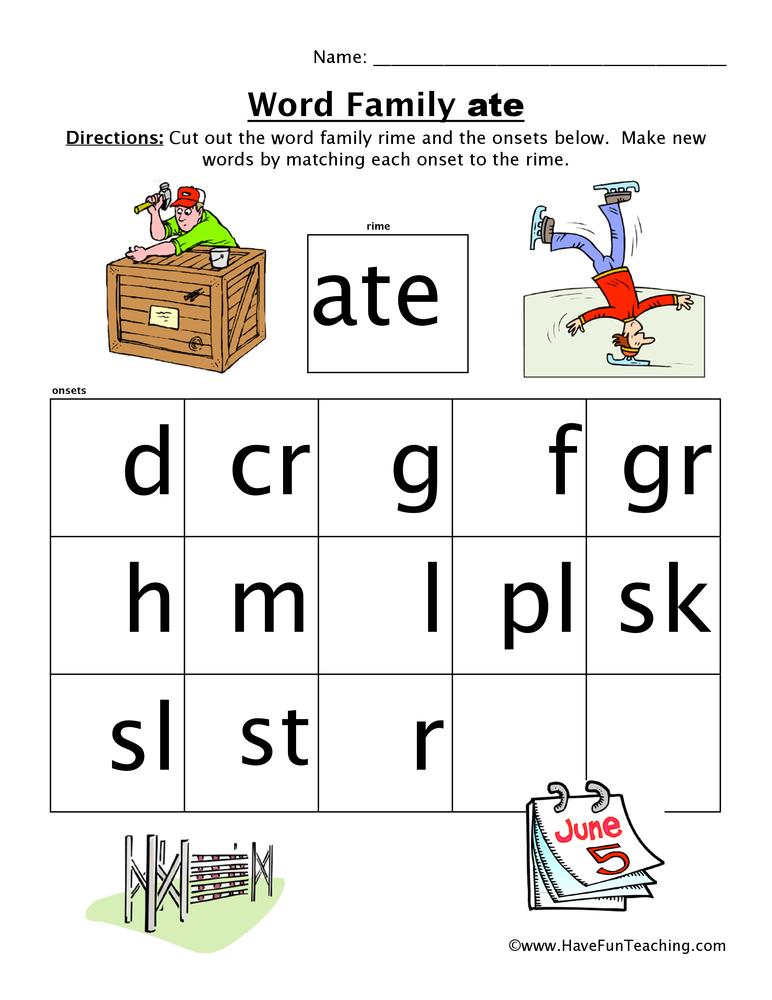 word-family-worksheet-ate