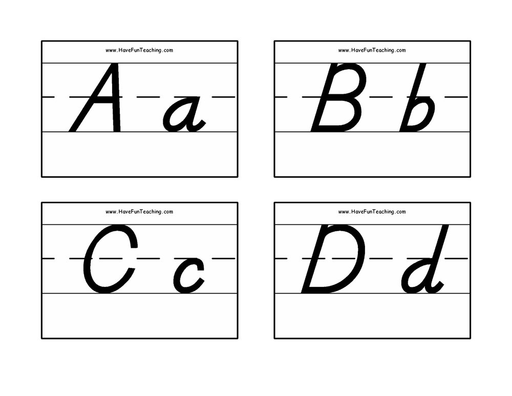 phonics alphabet flash cards resources