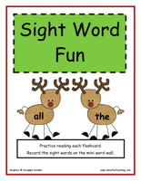 kindergarten-sight-words-activity