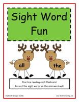 kindergarten-sight-words-activity