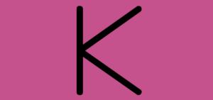 Letter K Video