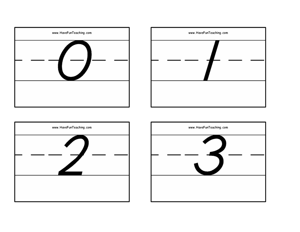 number-flash-cards-0-50