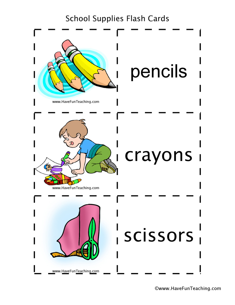 school-supplies-flash-cards