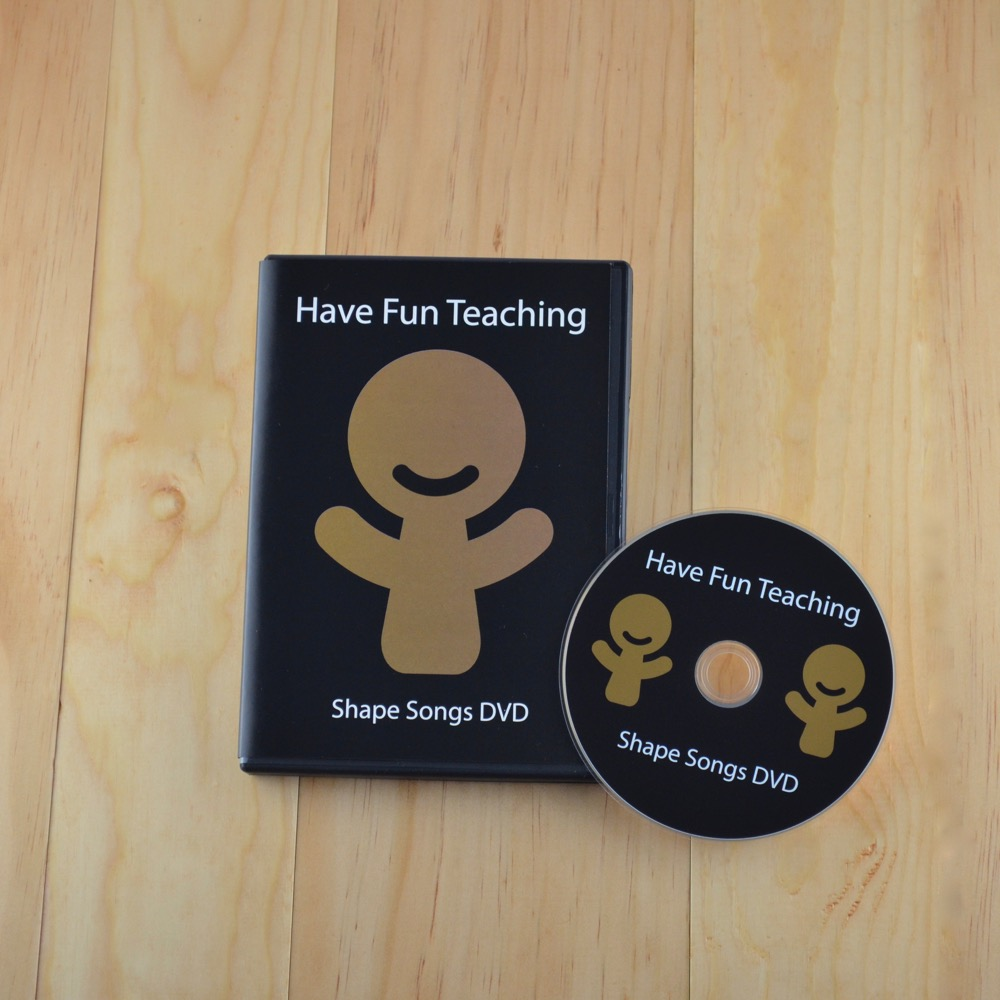 Have Fun Teaching | Shape Songs DVD 1