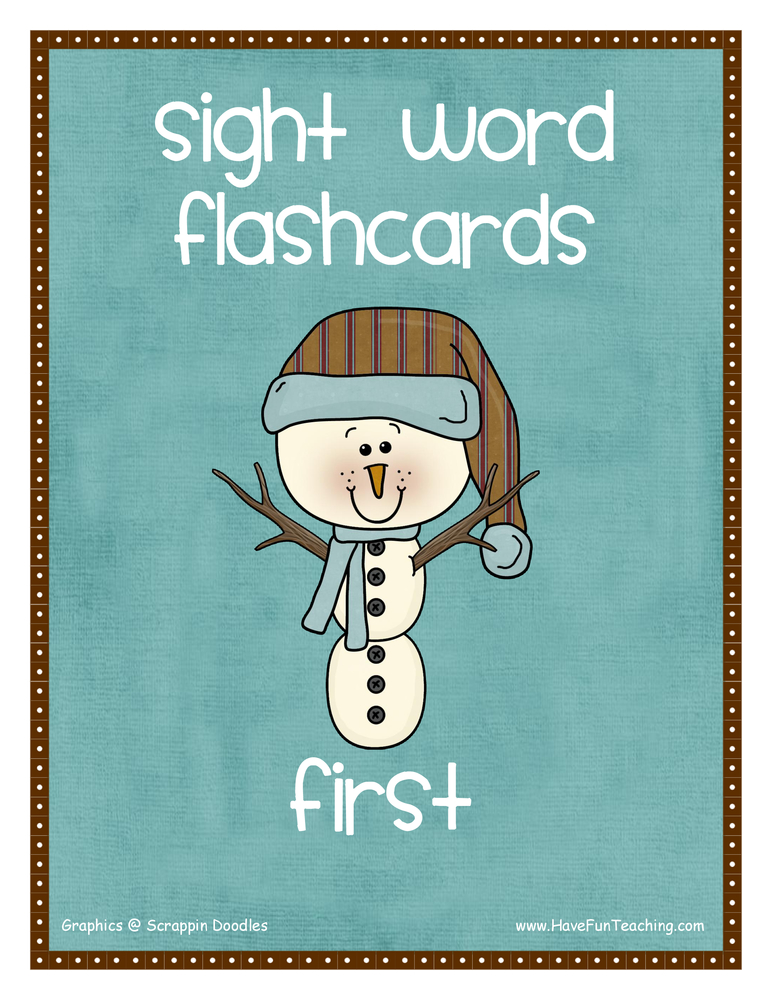 Vocabulary Flash Cards | Have Fun Teaching