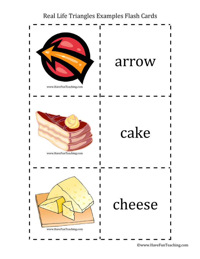 triangle-flash-cards