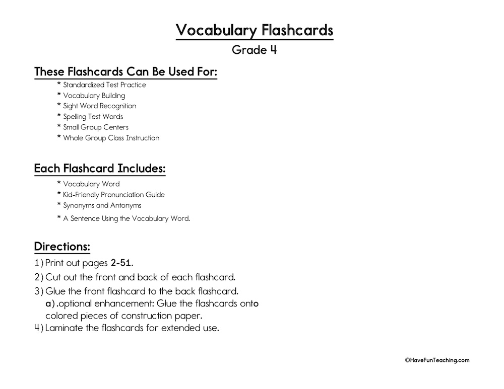 vocabulary-flash-cards-primary