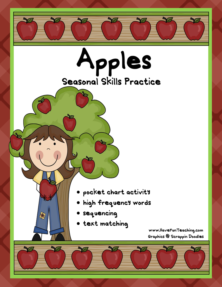 apple multiple skills activity