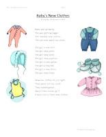 babys new clothes second grade reading comprehension worksheet