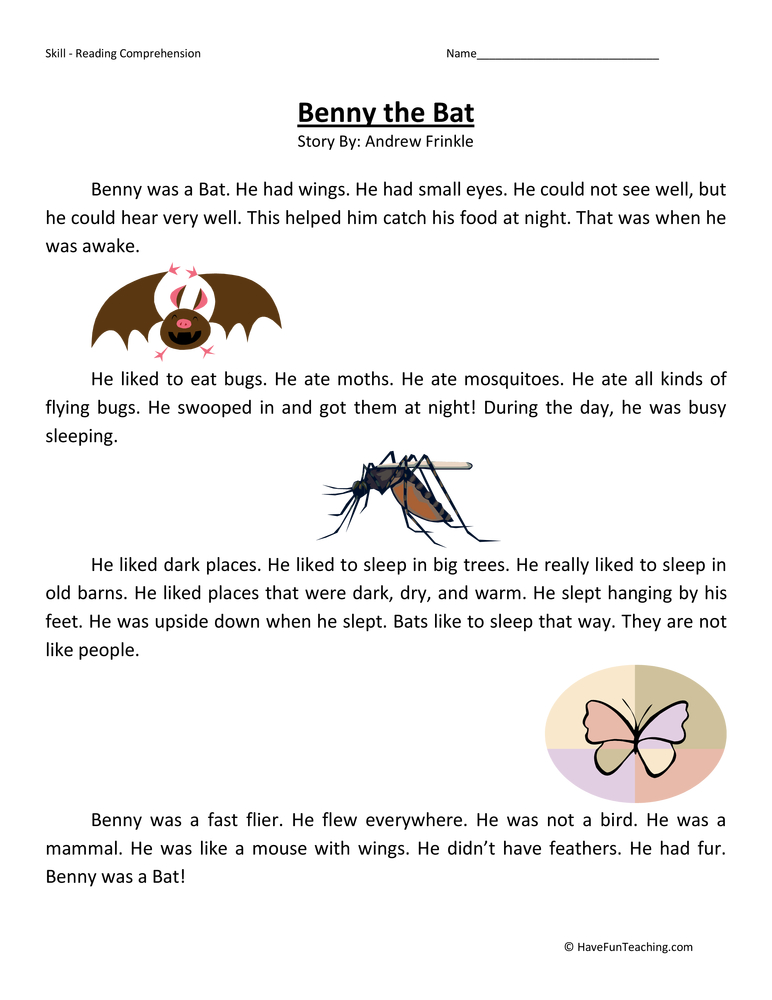 Bats Worksheets For 4th Grade Science. Bats. Best Free ...