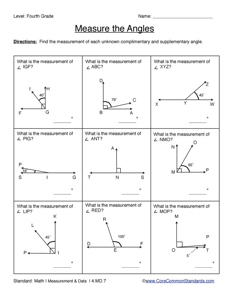 Worksheet 4th Grade Common Core Worksheets common core worksheet 4 md 7 have fun teaching 7