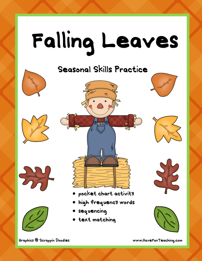 falling leaves activity
