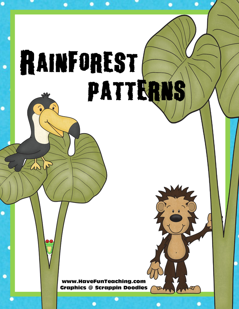 rainforest patterns activity