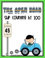 skip counting to 100 road activity