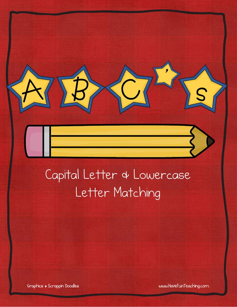 Star Alphabet Matching Activity