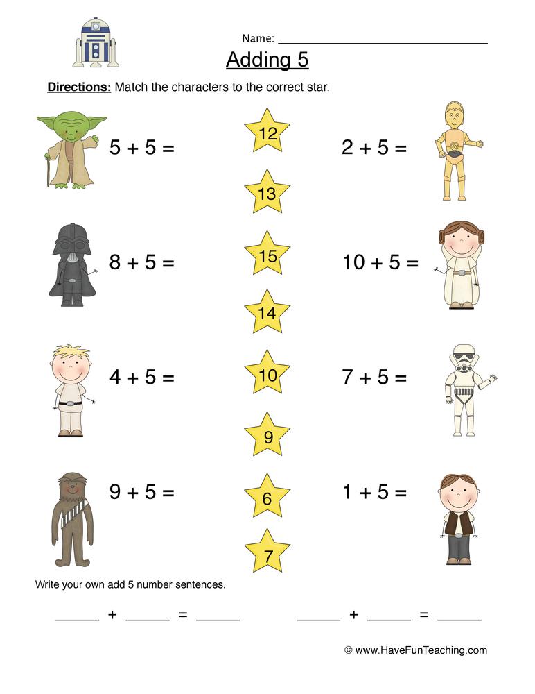 math worksheet : free addition worksheets  have fun teaching : Have Fun Teaching Math Worksheets