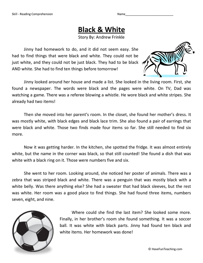 third grade reading comprehension worksheets page 2 of 10 have fun teaching. Black Bedroom Furniture Sets. Home Design Ideas