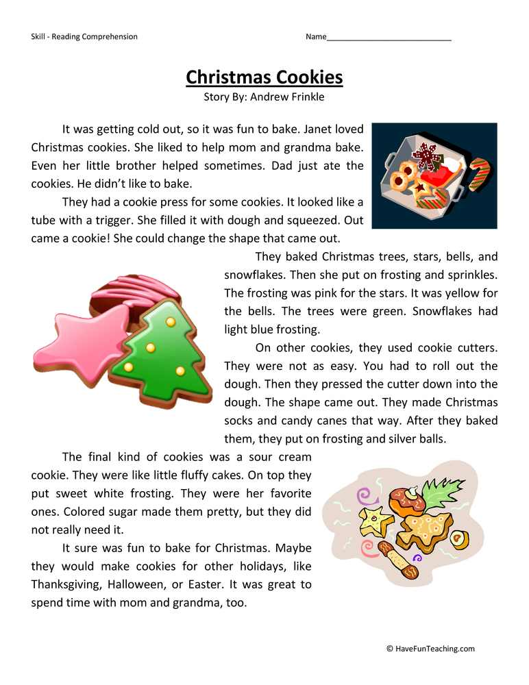 Resources Holidays Christmas Worksheets