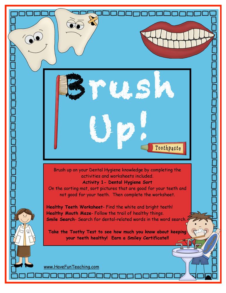 dental hygiene activity