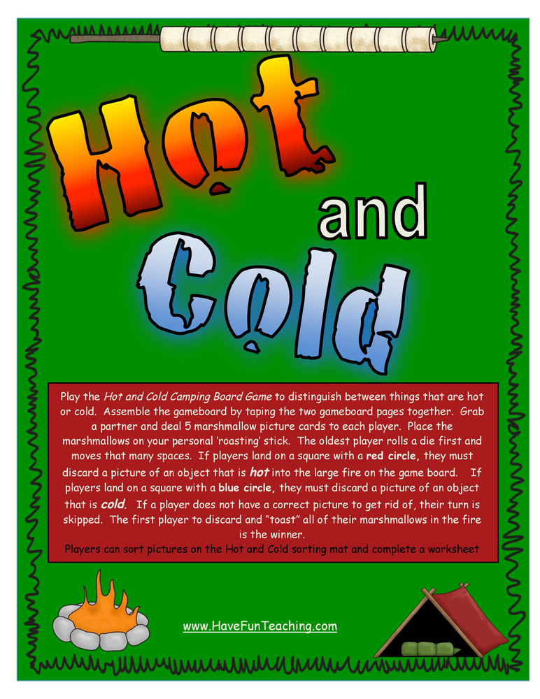 hot and cold activity