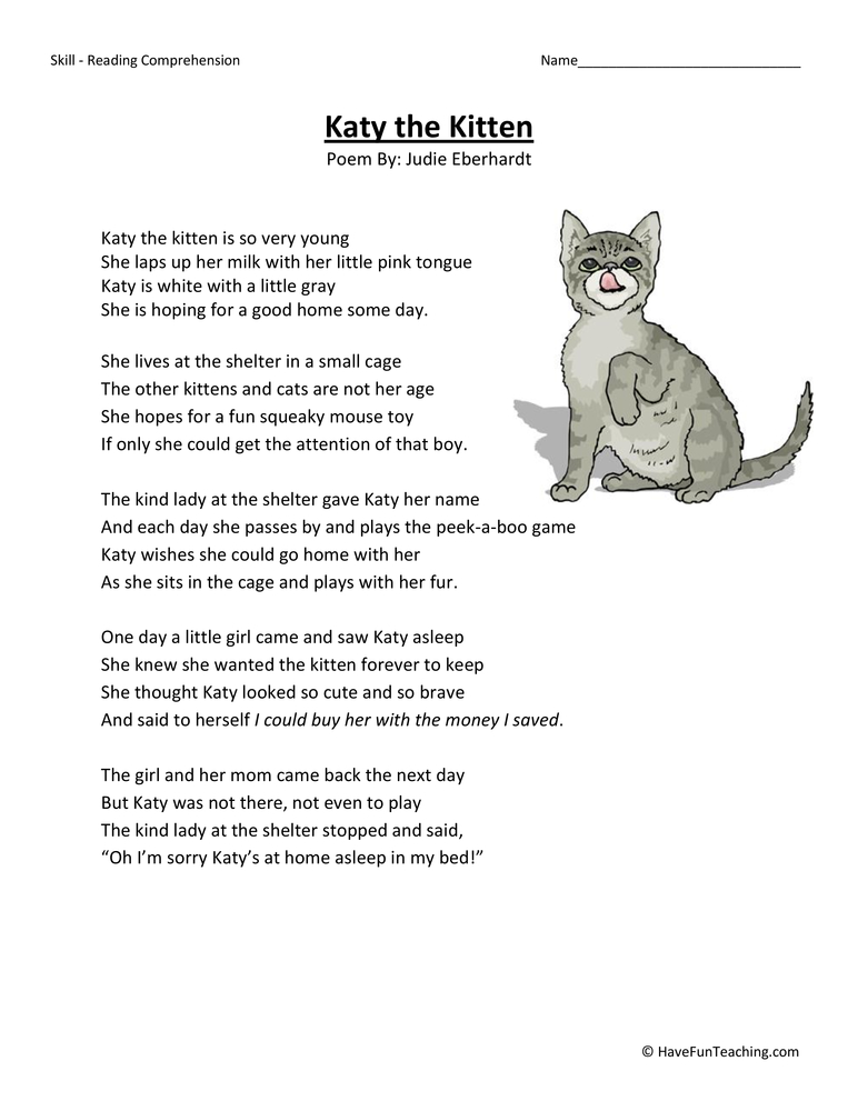 Printables 3rd Grade Poetry Worksheets poetry worksheets for 3rd grade davezan davezan