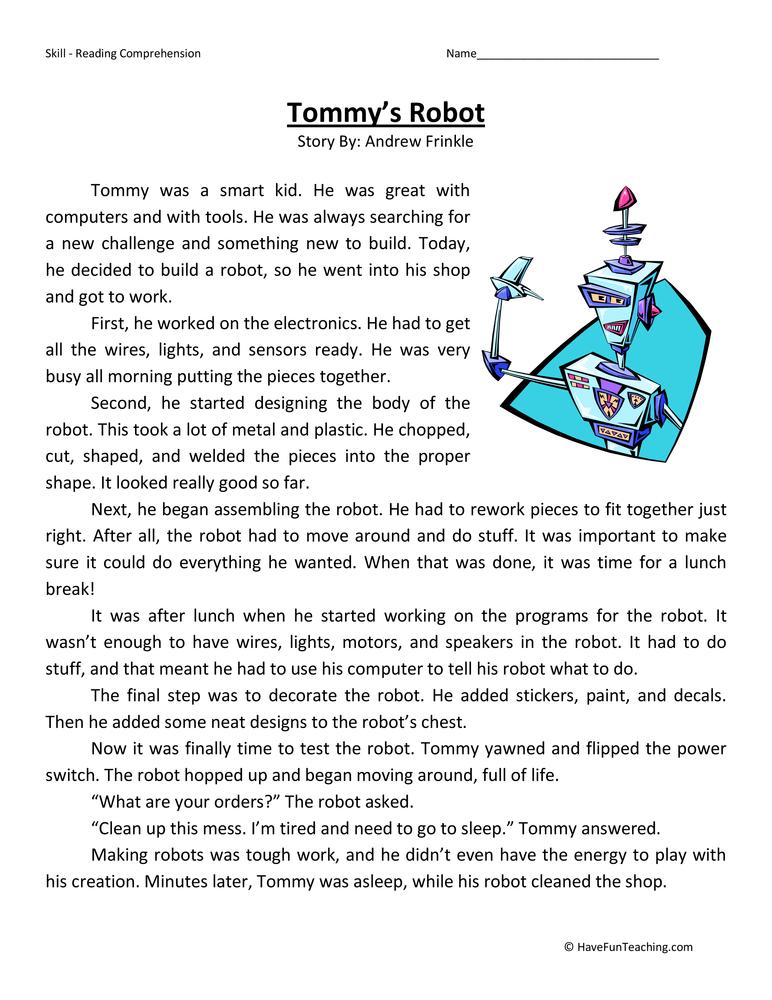 3rd grade short stories pdf