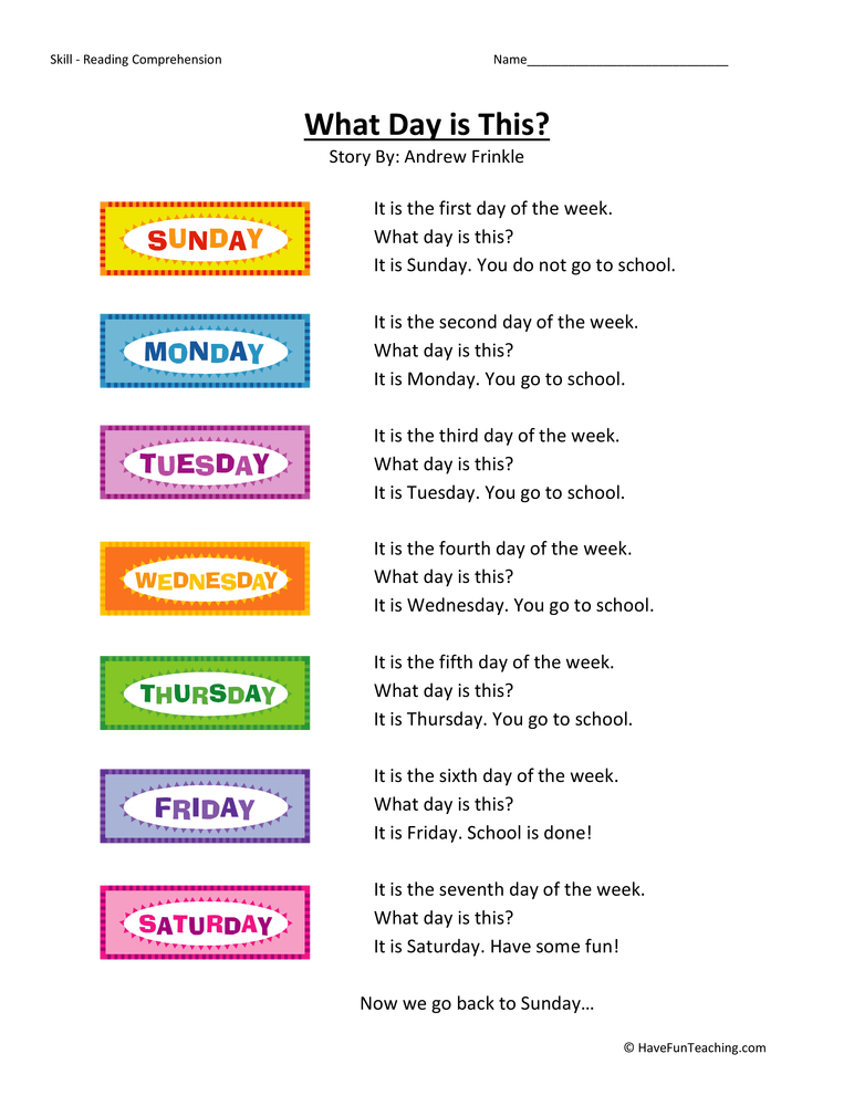 math worksheet : kindergarten reading comprehension worksheets  page 11 of 11  : Comprehension Worksheets Kindergarten