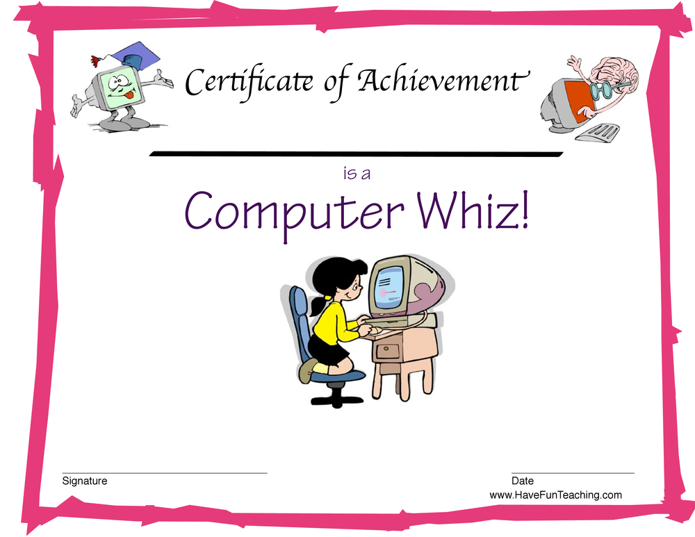 Computer Award for Girls