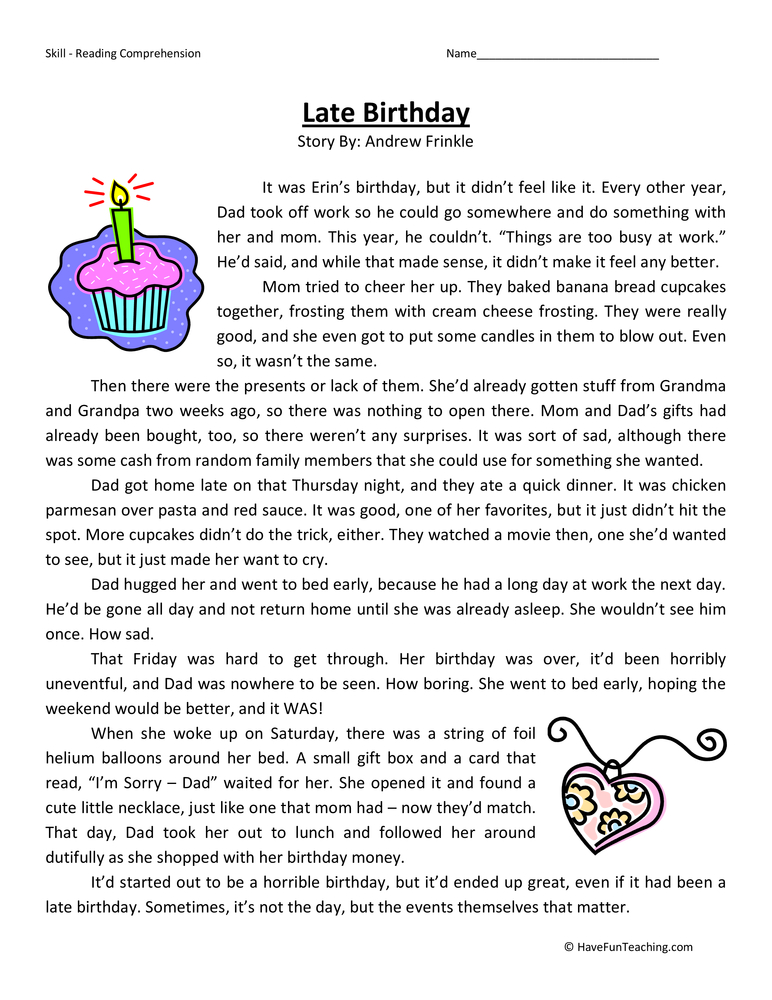 Worksheets Reading For 4th Graders : Hard fourth graders worksheet reading best free