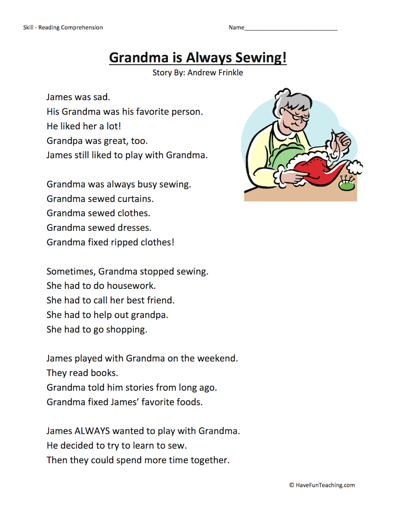 English Worksheets For 1st Graders : Goods and services worksheet