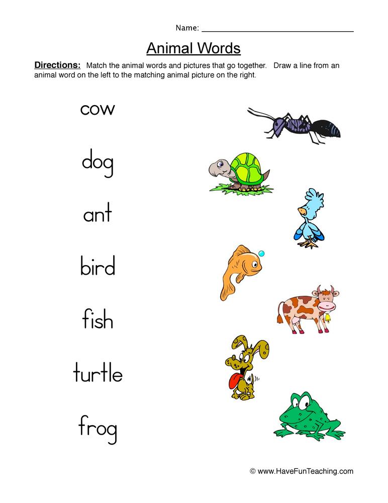 animal worksheets have fun teaching. Black Bedroom Furniture Sets. Home Design Ideas