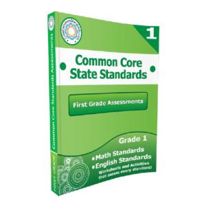 1st Grade Common Core Assessment Workbook