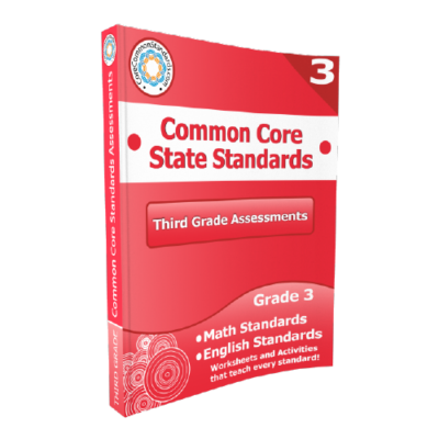 3rd Grade Common Core Assessment Workbook