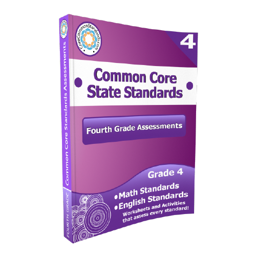 Fourth Grade Common Core Assessment Workbook Paperback