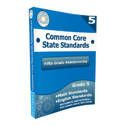 5th Grade Common Core Assessment Workbook