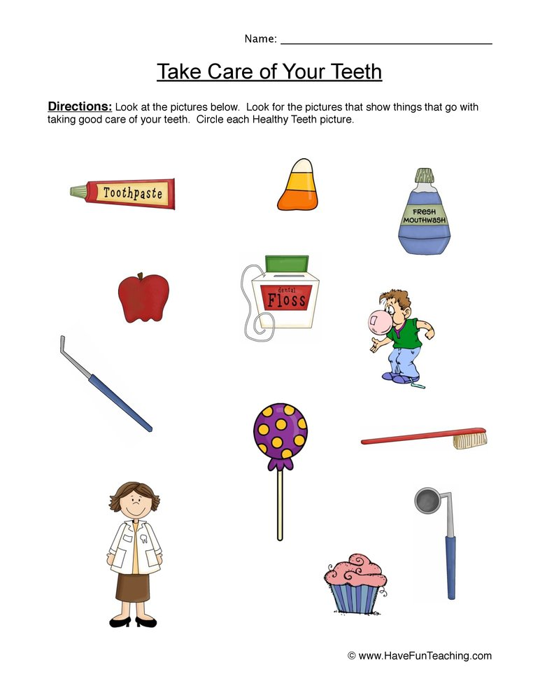 4th Grade 4th grade health worksheets : Health and Nutrition Worksheets | Have Fun Teaching
