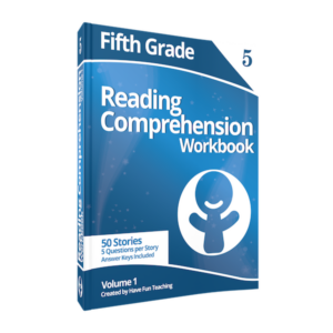 Fifth Grade Reading Comprehension Workbook Volume 1