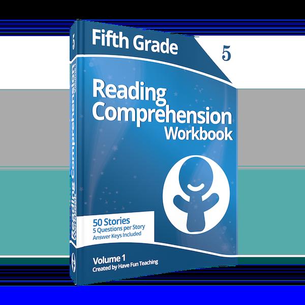 Fifth Grade Reading Comprehension Workbook Volume 1