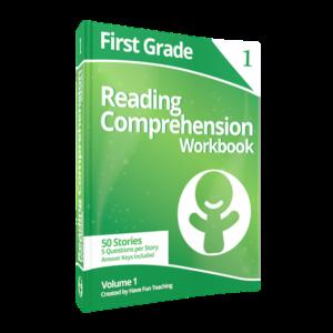 First Grade Reading Comprehension Workbook Volume 1