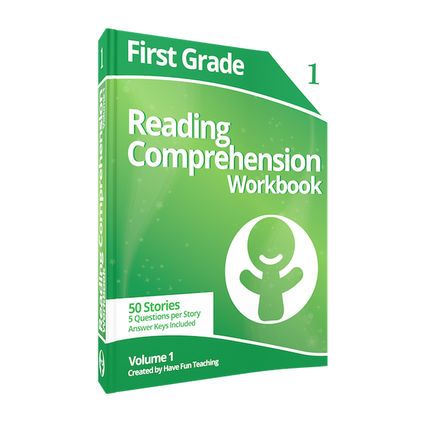 First Grade Reading Comprehension Workbook Volume 1