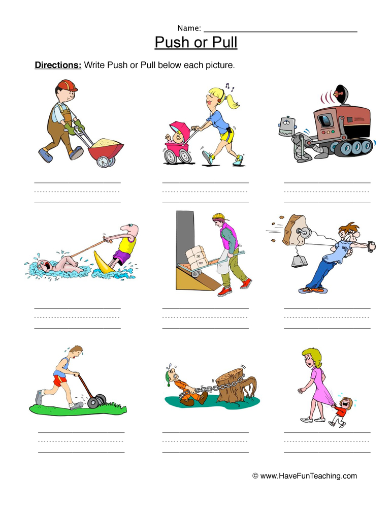 Forces and Movement Primary Teaching Resources and Printables ...