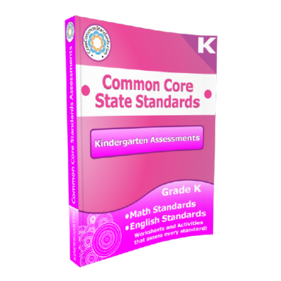 Kindergarten Common Core Assessment Workbook