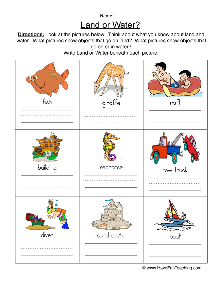 Habitats Worksheets - Have Fun Teaching