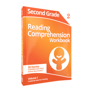 Second Grade Reading Comprehension Workbook Volume 1