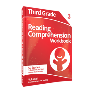 Third Grade Reading Comprehension Workbook Volume 1